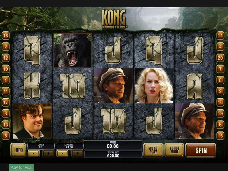 King Kong online spielen  am beliebten  Videoslot gewinnen